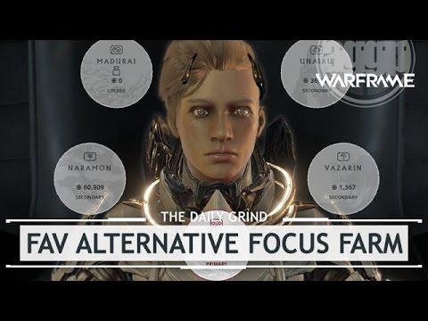 warframe how to get focus