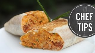 Grilled Breakfast Burritos Recipe