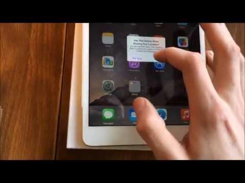 iPad Mini 3 Unboxing (Wifi, Gold, 64GB) | Jordan Woolery