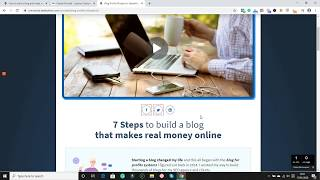 How to start a blog and make money online in 2020?