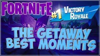 Fortnite: Battle Royale | O Getaway melhores e momentos engraçados! | w/amigos