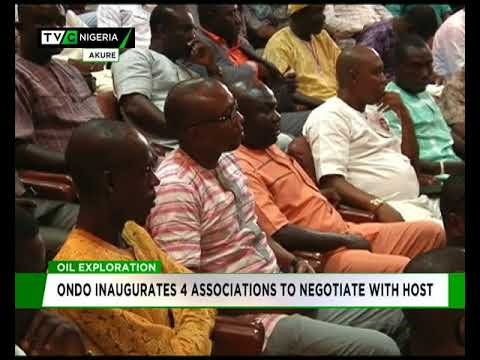Ondo inaigurates four associtions to negotiate with Oil Producing Communities