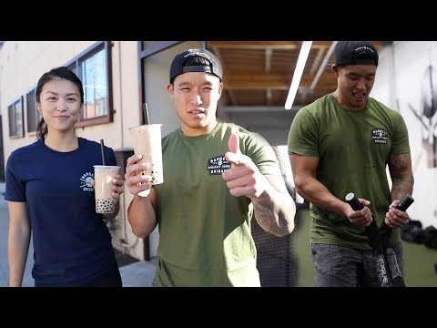 HOW TO BURN OFF BOBA WORKOUT ft. Anne Phung