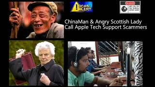 ChinaMan & Angry Scottish Lady Call Apple Tech Support Scammers