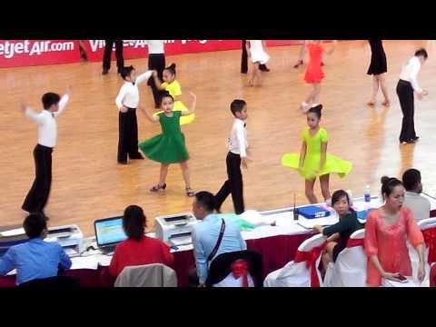 Giải khiêu vũ cúp thăng long thiếu nhi ha nội