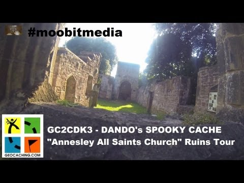 Annesley All Saint's Church Ruins Tour (Lord Byron, Nottinghamshire, GoPro)
