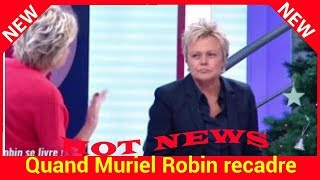 Quand Muriel Robin recadre sèchement Sophie Davant, malaise sur le plateau