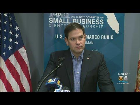 Florida US Senator Marco Rubio On Trump's China-Biden Plea