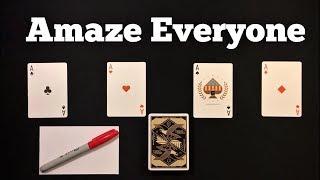 Brilliant Self Working Card Trick That Will FOOL Everyone!