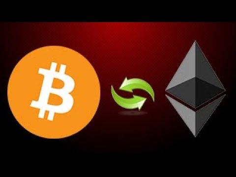 ✅ Как Перевести Биткоин В Эфир? Обмен Bitcoin (BTC) На Ethereum (ETH)