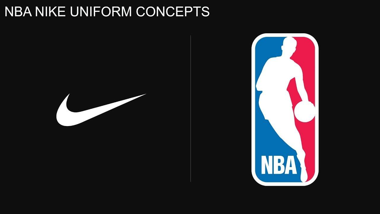 4249ab78 NBA NIKE UNIFORM CONCEPTS   2017-2018 SEASON - YouTube