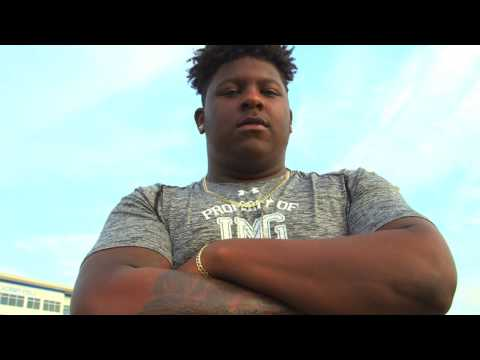 Cesar Ruiz - IMG Academy Center - Highlights/Interview - Sports Stars of Tomorrow