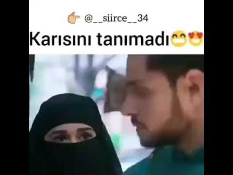 Муж не узнал свою жену с хиджабом МашаЛлах
