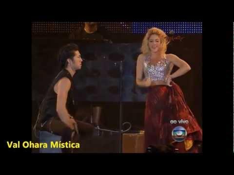 Shakira Gypsy Gitana ♫Rock In Rio♫ 30/09/11 Brasil Val Ohara Mística.
