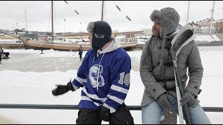 Helsinki, Finland Travel Video Diary Hockeytutorial – Pond Hockey Trip Helsinki