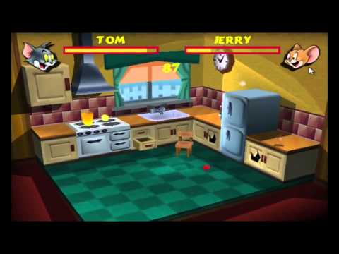 Tom And Jerry Fists Of Fury Crack Game, Funny Fighting In The Kitchen HD