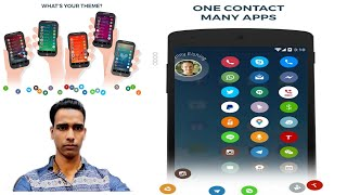 Bahut Hi Badiya App Contacts Phone Dialer Caller ID Drupe App Android phone Apps.. screenshot 4
