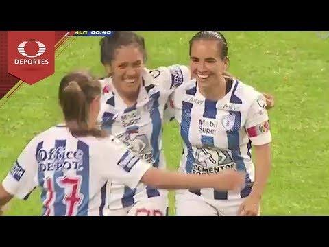 Gol de M. Ocampo | Toluca 0-2 Pachuca | Liga Femenil-Clausura 2018 | Televisa Deportes
