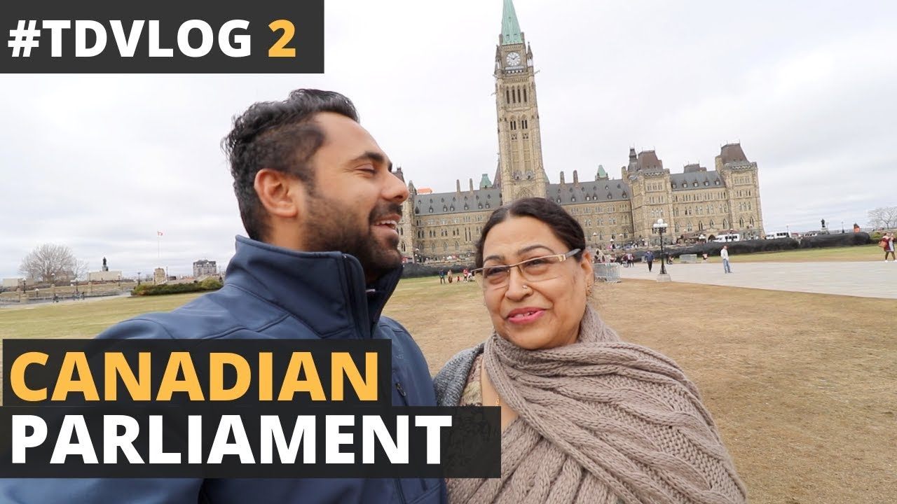 Download TD Vlogs 2 - Visiting The Canadian Parliament - Meeting a Subscriber & Indian Students in Canada