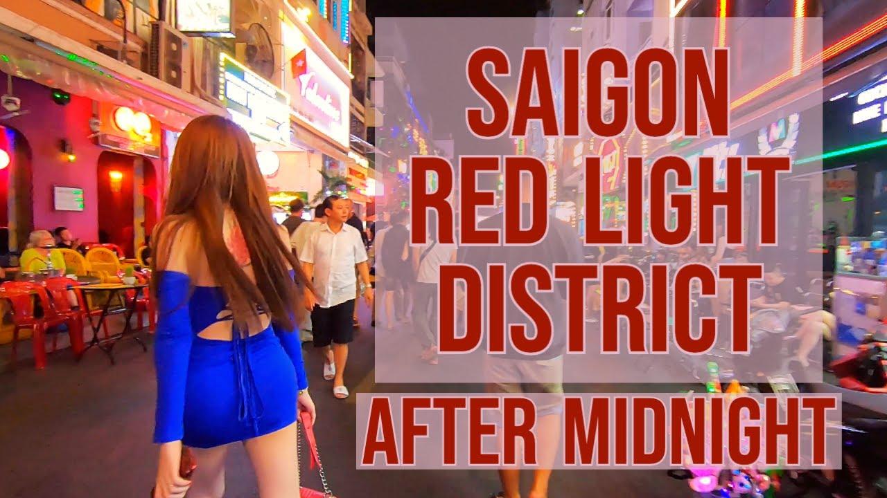 Download Saigon Red Light District  AFTER MIDNIGHT   Bui Vien Street Ho Chi Minh City Vietnam