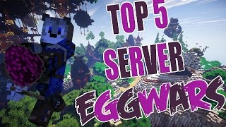 LOS MEJORES SERVER DE MINECRAFT CON EGG WARS 1.7 - 1.8.X | Block Party, Lucky Blocks, SkyWars.