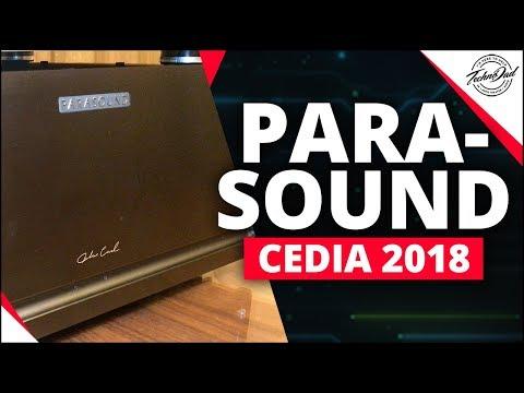 CEDIA 2018 | Parasound JC 5, P 6, HINT 6 & Richard Schram