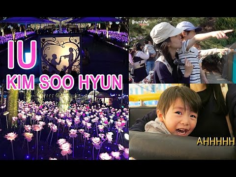 KOREA DIARY | FOLLOW US TO EVERLAND ♥ IU & KIMSOOHYUN 에버렌드