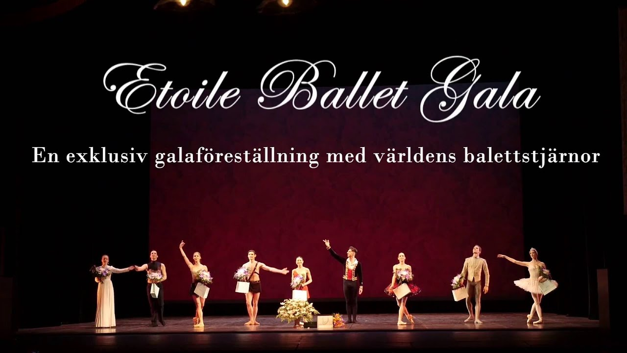 etoile ballet gala in uppsala 2016 trailer youtube. Black Bedroom Furniture Sets. Home Design Ideas