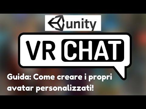 Tutorial: come creare avatar personalizzati per VR Chat con l'SDK Unity