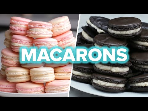 Download Youtube: Macarons 4 Ways
