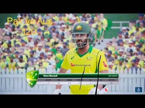 Ashes Cricket pak vs aus 2nd t20 Match