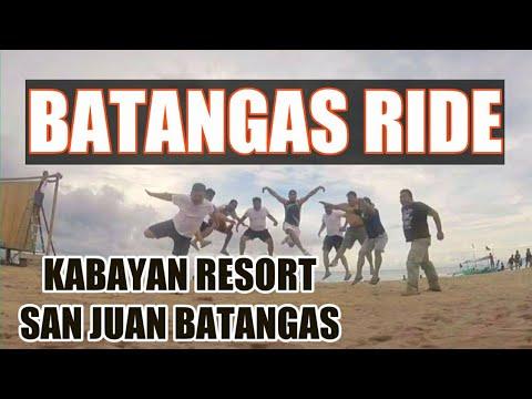 Batangas Ride  ( Laiya San Juan)