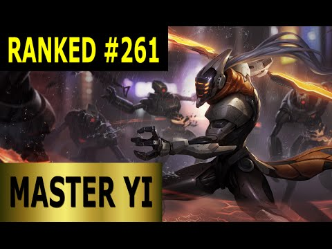 Master Yi Jungle - Full League of Legends Gameplay [German] Let's Play LoL - Ranked #261