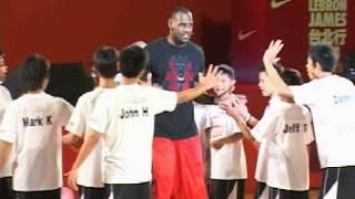 NBA兩屆MVP球員 LeBron James首度訪台