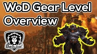 Overview of Gear Levels & Acquisition in Warlords of Draenor