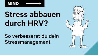 Effektiv Stress abbauen mit einem HRV Biofeedbackgerät