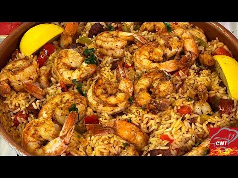 Cajun Shrimp And Andouille Sausage Rice Skillet Recipe