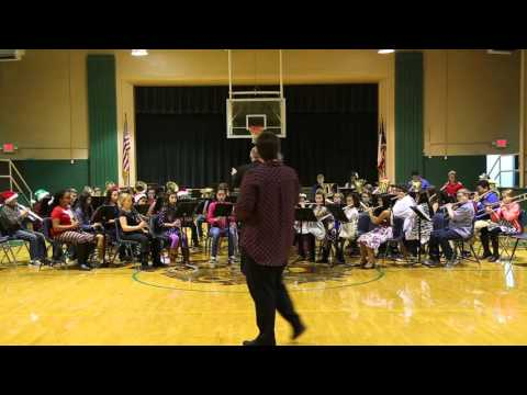New Deal Middle School 5th Grade Christmas Concert