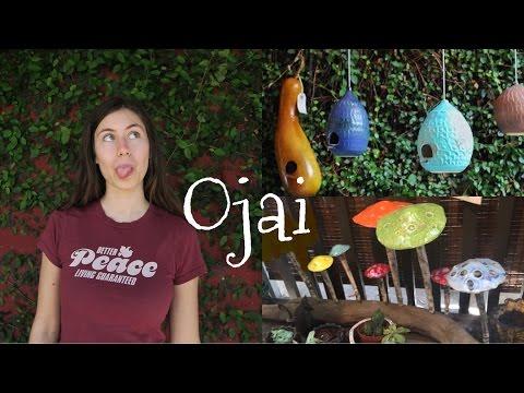 OJAI VLOG | Art + Plants, Meditation Garden, Vegan Food