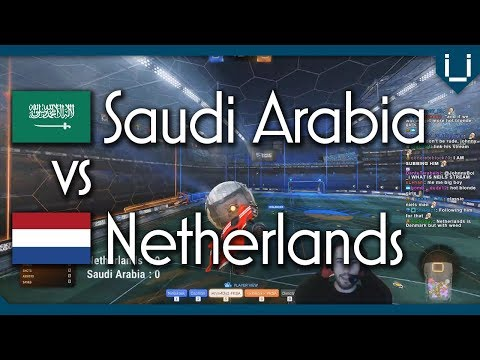 Saudi Arabia vs Netherlands | Rocket League 2v2