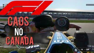 CAOS NO CANADA (DE NOVO ;-;) - F1 2018