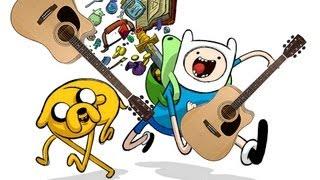 Видео Урок Adventure Time Menu Theme на гитаре