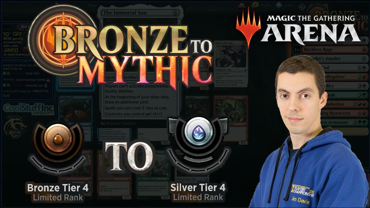 07c8d4288da MTG Arena: Limited Bronze To Mythic - Episode One - Bronze Tier 4 to Silver  Tier 4