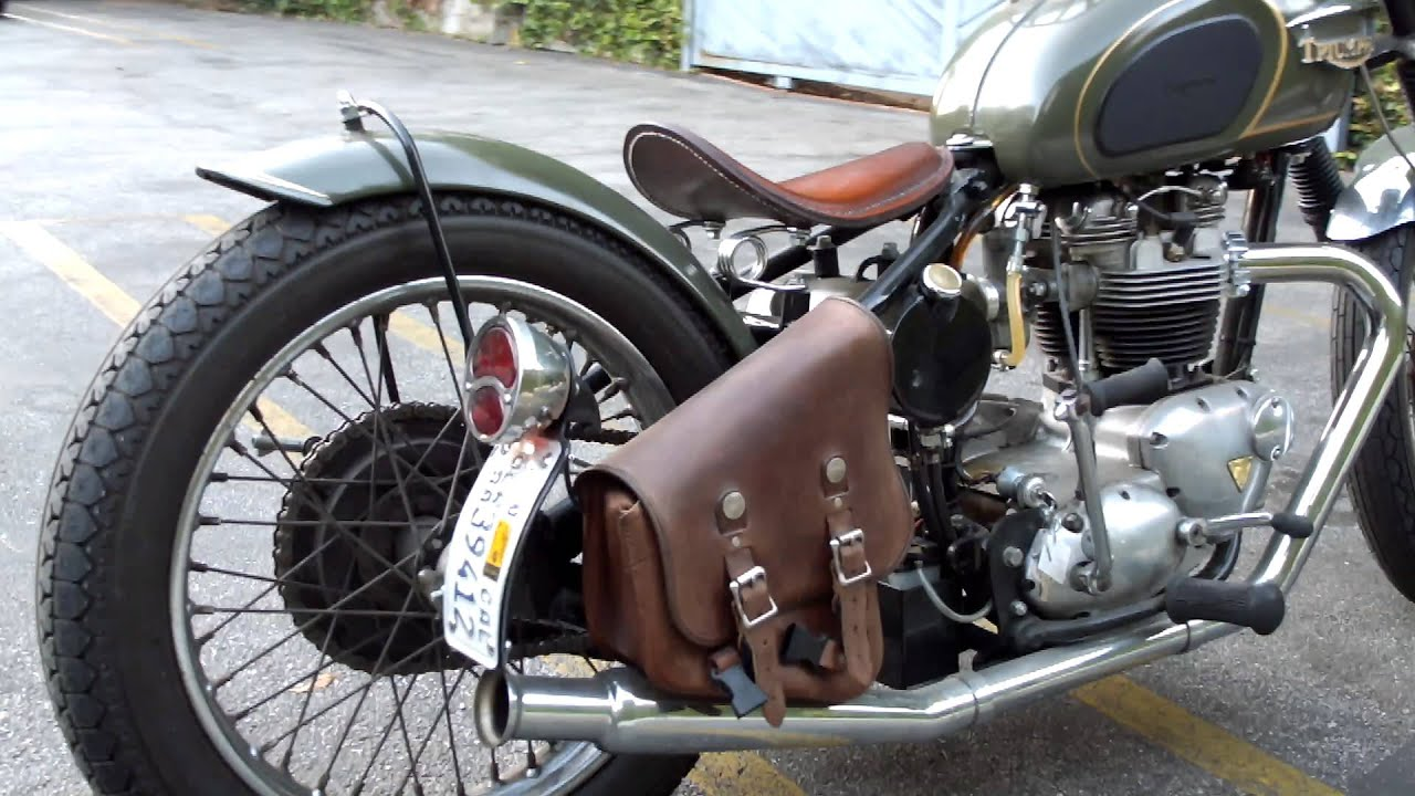 1967 triumph bonneville t120 bobber for sale youtube. Black Bedroom Furniture Sets. Home Design Ideas
