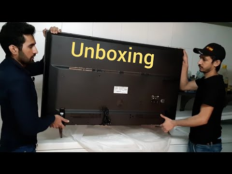 Hitachi 55 inch smart tv unboxing and review BY MDTY