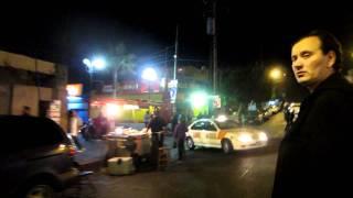 Walking Tour of Tijuana Mexico after dark