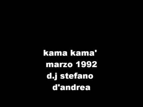 Stefano D'Andrea Kama Kama' Marzo 1992 Techno Ambient