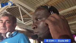⚽️-Télé CSM-  Le -CSM- remporte le -classico guadeloupéen- 1 à 0 face à l'-Etoile- ⚽️