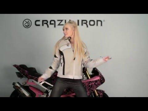 Мотокуртка текстильная Crazy Iron и Даша Харченко