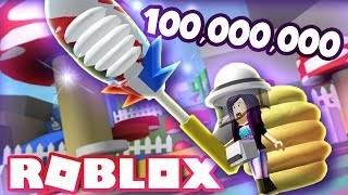 I GOT THE 100 MILLION PORCELAIN DIPPER! | Roblox Bee Swarm Simulator